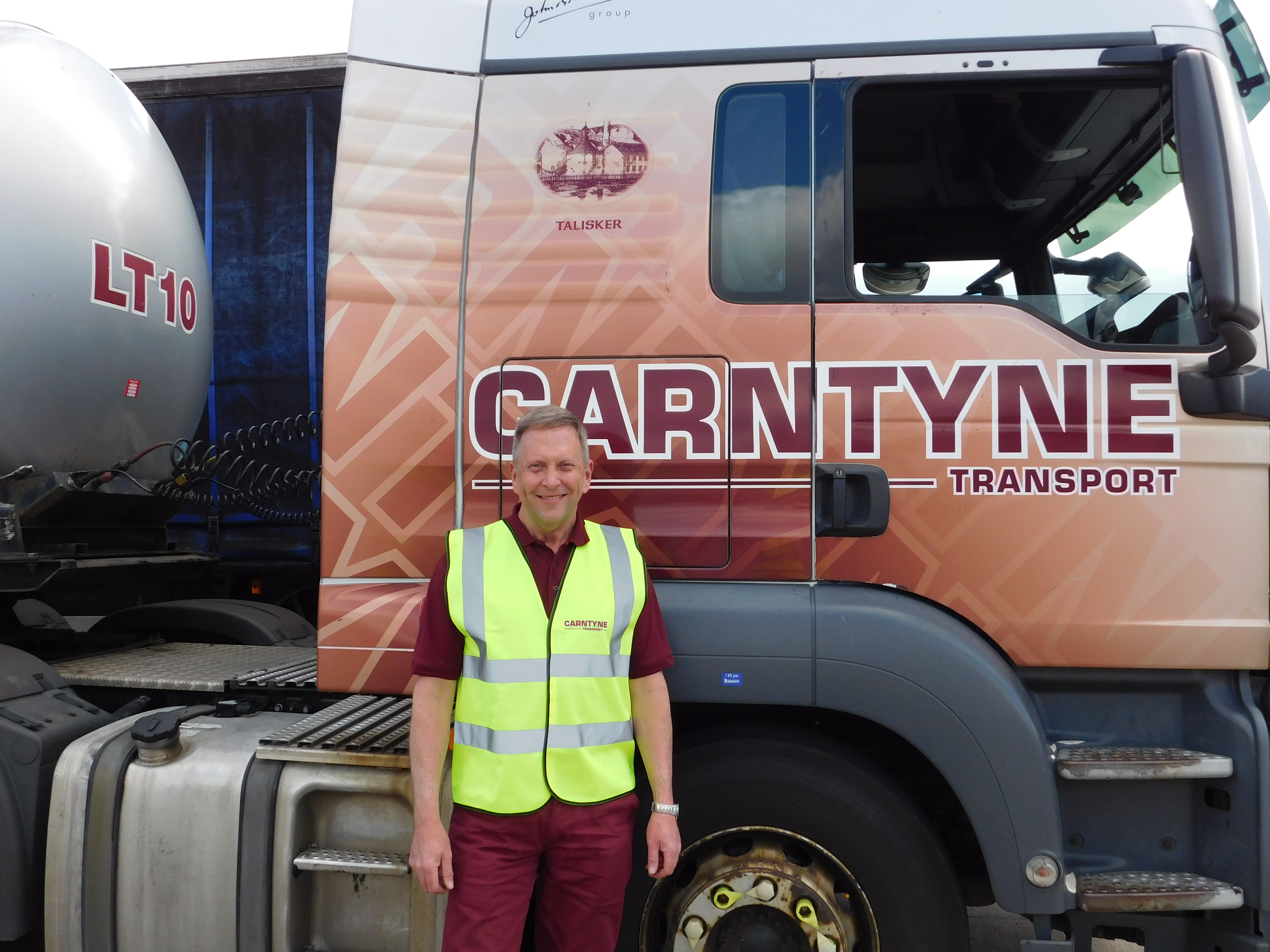 A Day in the Life of a Carntyne Driver